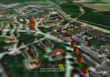 Примеры муниципальных ГИС на основе Google Earth